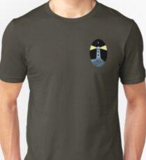 The Lighthouse (breast logo version) Unisex T-Shirt