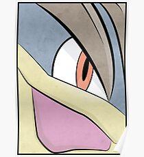 Machamp - Pokemon Art Poster Minimalistic Poster