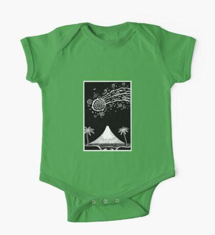Comet over Taranaki Kids Clothes