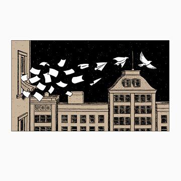 Paper Birds by dylanhorrocks