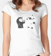 Universal Fun Women's Fitted Scoop T-Shirt