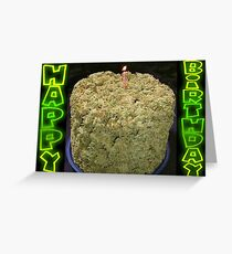 Habby Birthday BudCake - Card Greeting Card
