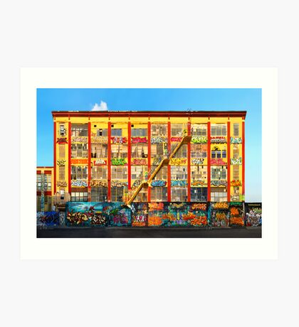Five Pointz Graffiti Building: Queens, NYC Art Print