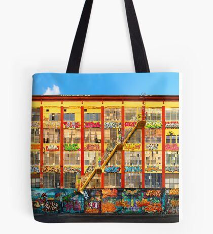 Five Pointz Graffiti Building: Queens, NYC Tote Bag