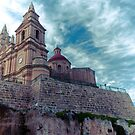 Mellieha Church, Malta by Chris Muscat