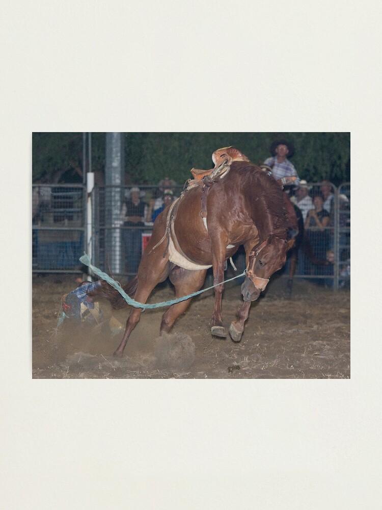 Alternate view of Moruya Rodeo New Years Day 2012 Photographic Print