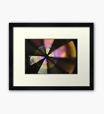 Bubble Abstract (In Synch #2) Framed Print