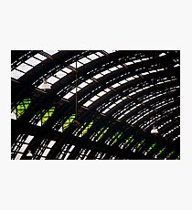 Milan train station dome Photographic Print