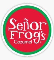 Senor Frog's Cozumel Sticker