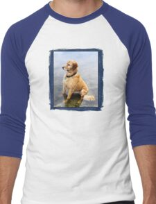 Wet Dog ~ Cooling Off At the Lake T-Shirt