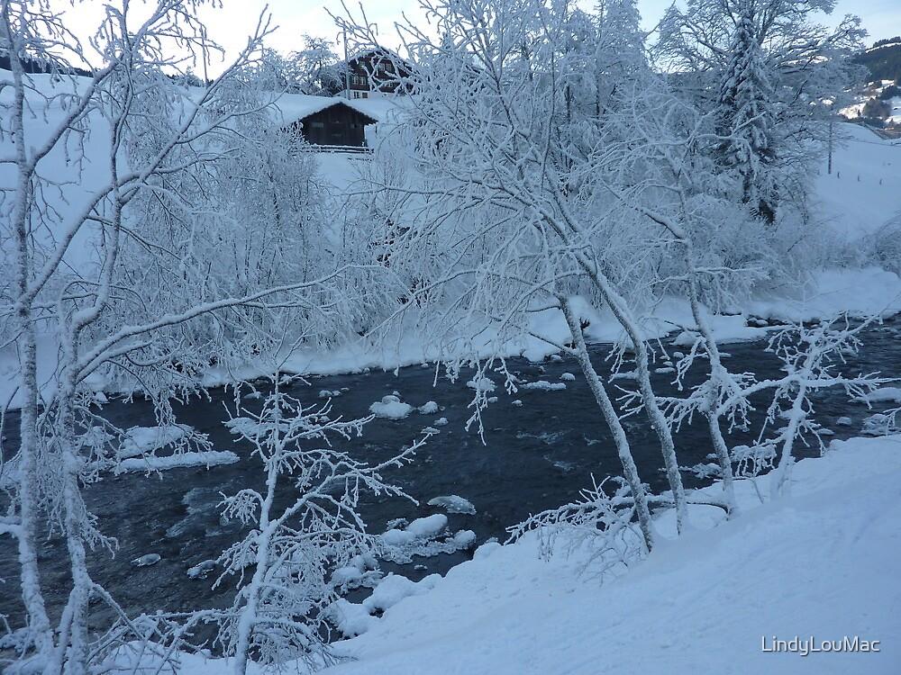 Snow Scene by LindyLouMac