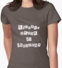 Richard Brook is Innocent Women's Fitted T-Shirt