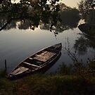 Lonely Boat by Sagar Lahiri