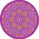 Royal Mandala by redqueenself