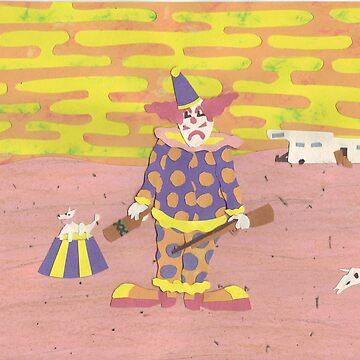 Solitary Clown by DrewSomervell