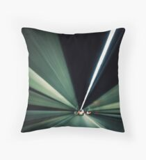 tunnel vision.. Throw Pillow