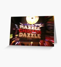Chicago Marquee Greeting Card