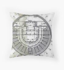 Perth Entertainment Centre Layout Throw Pillow