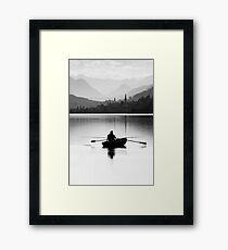 Evening Hunt Framed Print