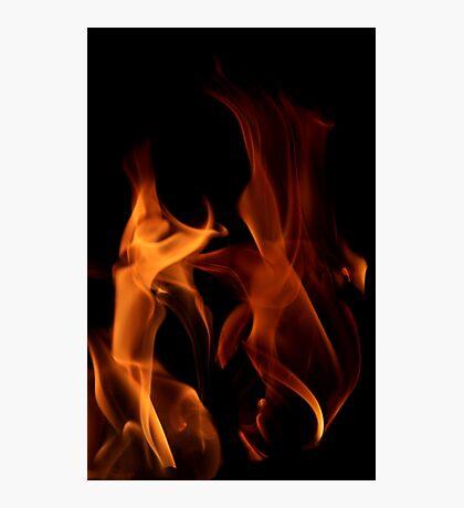 Flame Dancers Photographic Print