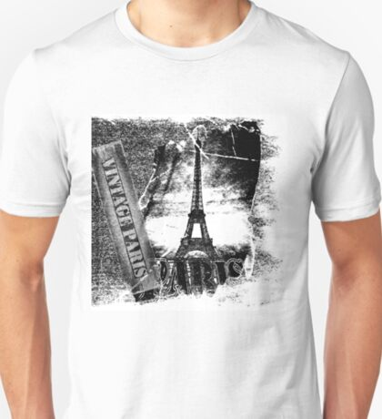 Vintage Eiffel Tower Paris #2 T-shirt T-Shirt