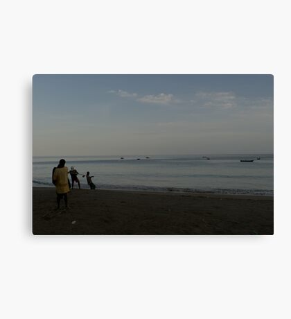 The Pull Canvas Print