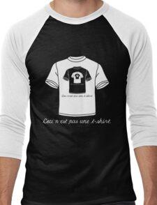 This Is Not A T-Shirt (Dark) Men's Baseball ¾ T-Shirt