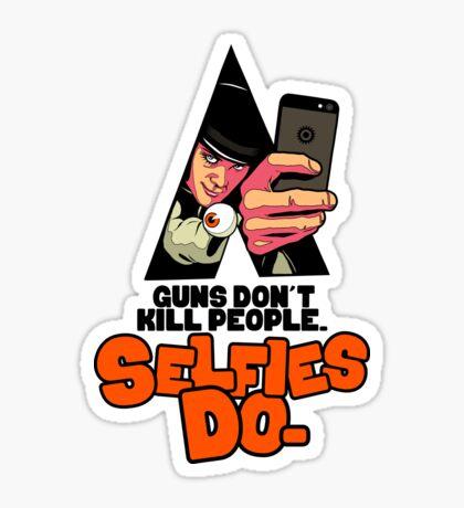 Clockwork Selfie Sticker