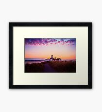 Discovery Park Lighthouse Framed Print