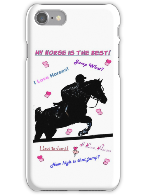 Horse Doodles iPhone & iPod Cases by Patricia Barmatz
