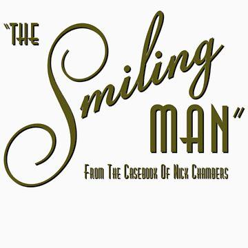 The Smiling Man -- Logo (Light) by Astrobeej
