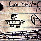 Robot by 4fingersplusone