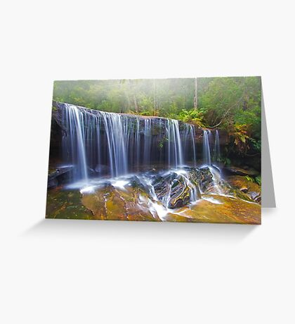 Falling Mist Greeting Card