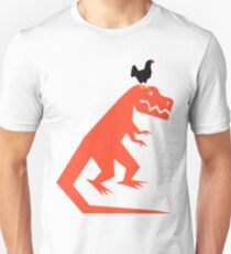 Hühnersaurus Rex Slim Fit T-Shirt