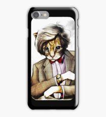 Catt Matt Smith posed as Dos Equis Interesting Man iPhone Case/Skin