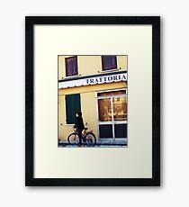 Trattoria Framed Print
