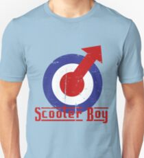Retro look scooter boy mod target design T-Shirt