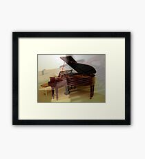 Musical Synergy Framed Print