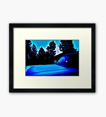 Suburban Blog Framed Print
