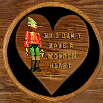 ❁ ♥¸.•*NO I DON'T HAVE A WOODEN HEART❁ ♥¸.•* by Rapture777
