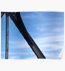 Abstract Forms: Truss, Shoalhaven River Poster