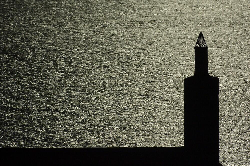Chimney By The Sea by Crispel