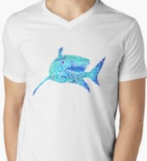 Swirly Shark T-Shirt