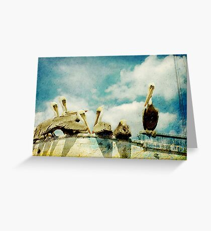 Keep You're Head In The Clouds Greeting Card