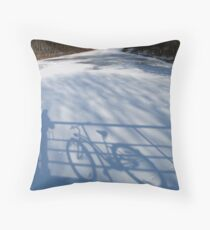 Me and my Bike Throw Pillow