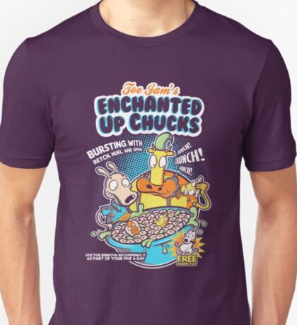 Enchanted Up Chucks T-Shirt