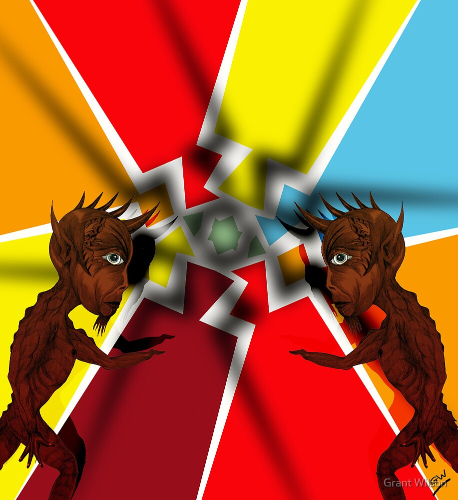 Devilish Pair by Grant Wilson