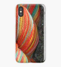 Autumn Colored Yarn iPhone Case/Skin