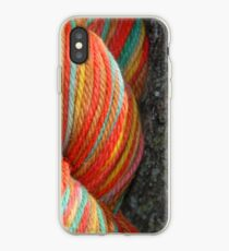 Autumn Colored Yarn iPhone Case
