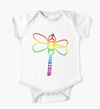 Rainbow Dragonfly Kids Clothes